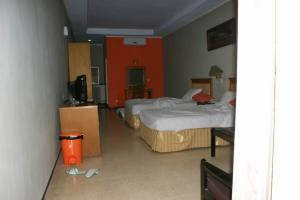 Interior kamar hotel Pasuruan
